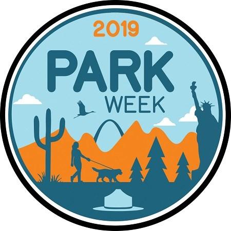 2019 park week logo